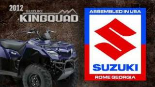10. 2012 Suzuki KingQuad 400 ATV Walkaround