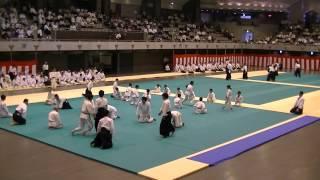 Демонстрация айкидо Хорикоси Китта-сенджю додзе