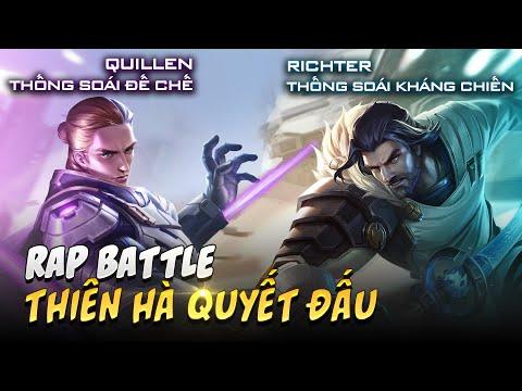 Rap battle - Thiên hà quyết chiến - Richter Thống soái kháng chiến và Quillen Thống soái đế chế - Thời lượng: 3:31.
