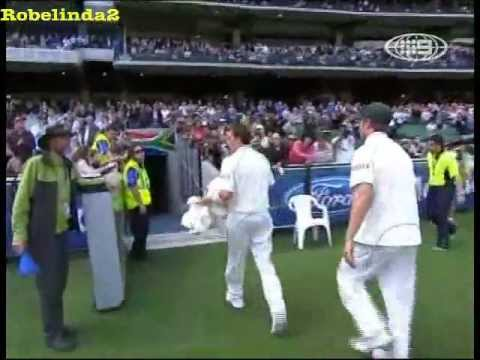 Dale Steyn amazing humiliation of Australia at MCG 2008. 10 WICKETS OF DOOM! (видео)