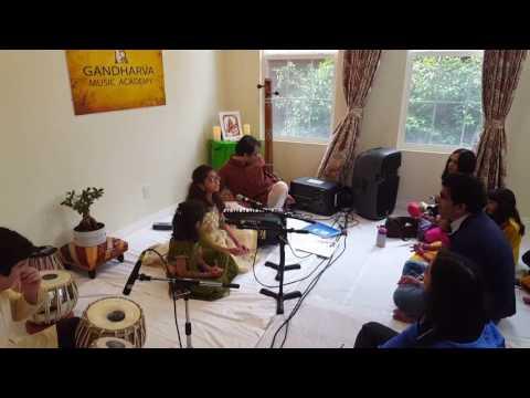 Arkalgud sisters taking on Raag Kamaaj under guidance from Dr Aditya Sharma