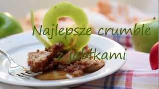 Przepis na crumble z jabłkami
