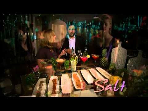 Kim Barnes tours the New Salt Lounge in the Domain in Austin TX