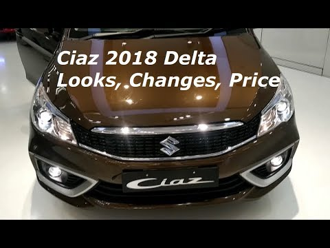 Maruti Ciaz 2018 Facelift Delta Model Looks Review, Features, Prices