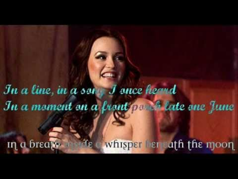 All the words i couldn't say - Leighton Meester  Country Strong, With Lyrics
