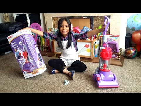 Kids Dyson Toy Vacuum Cleaner by Casdon | Surprise Toy Unboxing & Review DC14 Model