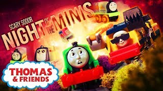 Video Night of the Minis 🎃Scary Sodor #2 🎃New Episode! 🎃Thomas & Friends UK 🎃Halloween Videos for Kids MP3, 3GP, MP4, WEBM, AVI, FLV Oktober 2018