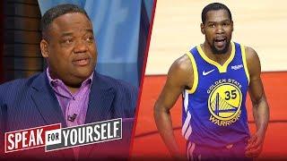 Video The Warriors' desperation led to Kevin Durant's injury — Jason Whitlock | NBA | SPEAK FOR YOURSELF MP3, 3GP, MP4, WEBM, AVI, FLV September 2019