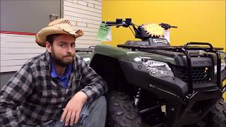 8. The Honda Rancher - A machine for work or play!