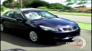 TEST DRIVE HONDA ACCORD 2008 AUTOMOCION