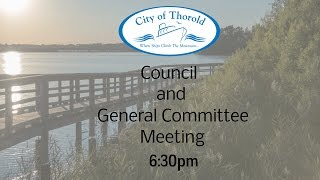 Thorold (ON) Canada  City pictures : City of Thorold Council Meeting - April 5, 2016