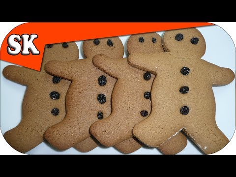 GINGERBREAD RECIPE - Gingerbread Men - How to make Gingerbread