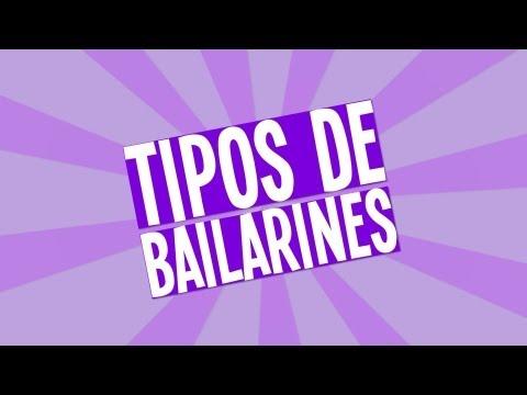 Tipos de bailarines