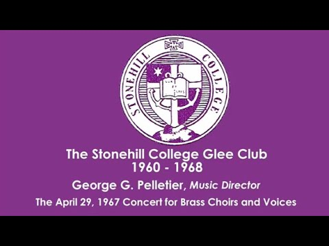 The Stonehill College Glee Club 1960 - 1968 (2)