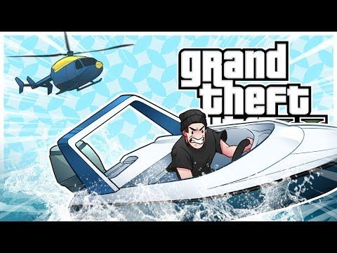 GTA 5 Roleplay - Police Helicopter Chase! (GTA 5 Online Multiplayer)