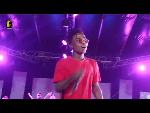 L A X, WOLI AROLE, VECTOR, LYTA, SMALL DOCTOR PERFORM @ OMO BETTER CONCERT 2018