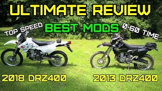 4. Suzuki DRZ400 FULL Ultimate review, Must have Mods, top speed and ride 2000 – 2018