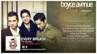 Boyce Avenue - Every Breath (Official Song&Lyrics) on iTunes