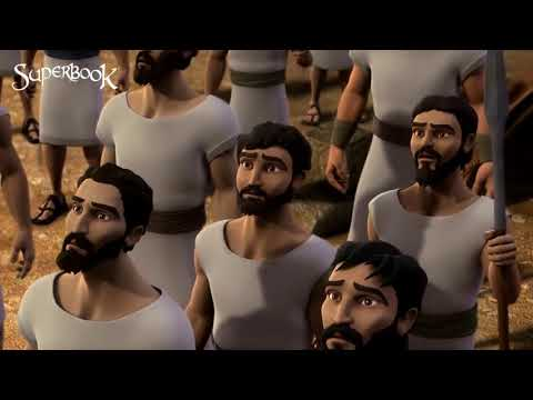 Gideon,  Frightened Soldiers Leave -  Superbook