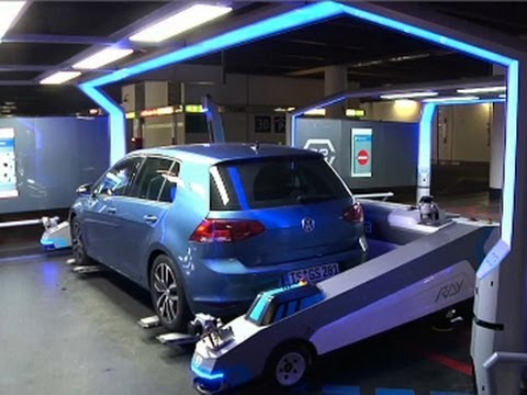 Robot Parking Valet Creates Stress-free Travel    #RobotParking