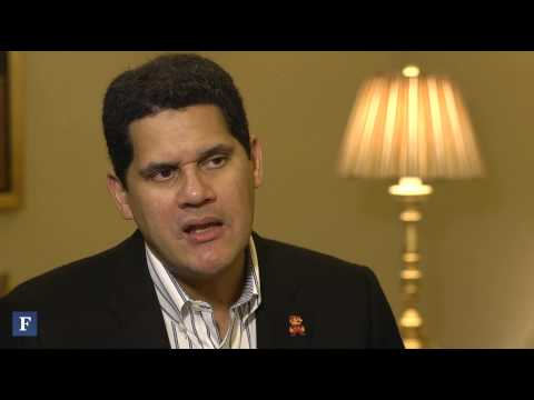 Nintendo - Nintendo of America president Reggie Fils-Aime says the Wii U has what it takes to beat Xbox One and PlayStation 4. Subscribe to FORBES: http://www.youtube.c...
