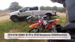 7. 2019 KTM 300 XC-W TPI vs. 2018 Husqvarna TX300 - MVR Suspension Comparison