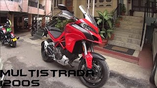 7. 2016 Ducati Multistrada 1200S Stock Exhaust Note/Walkaround