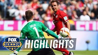 Every goal scored on Bundesliga Matchday 34 | 2015–16 Bundesliga Highlights by FOX Soccer