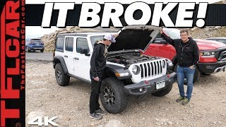 Driving On The Highest Road in America — This Happened to Our New Jeep Wrangler! by The Fast Lane Car