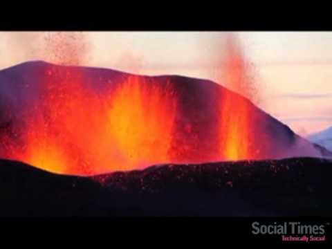 Eyjafjallajokull Iceland Volcano Remix