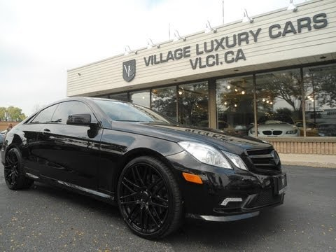 2011 Mercedes Benz E550 in review - Village Luxury Cars Toronto