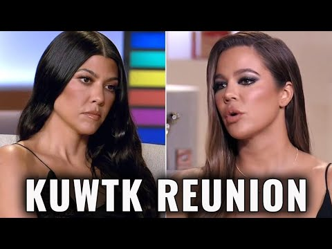 Khloe Kardashian Calls Out Kourtney on NEW Keeping up With the Kardashians Reunion Preview!