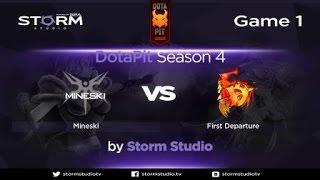Mineski vs FD, game 1