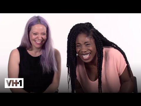 Interracial Couples Talk Hair: 'Weaves, Bonnets, & More' | VH1 (видео)
