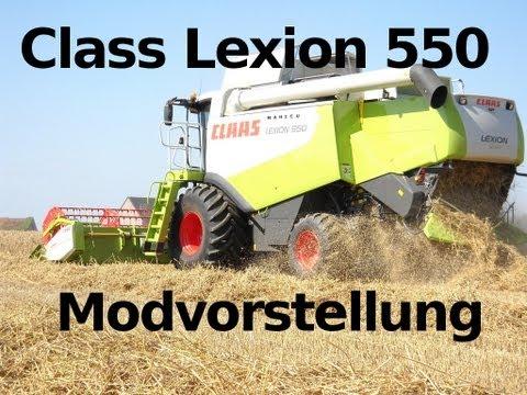 Claas Lexion 550 v3.3