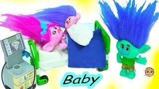 Dreamworks Trolls Poppy + Branch Newborn- DIY Do It Yourself Custom Toy Video