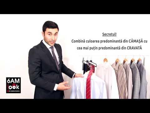 Asorteaza camasa cu cravata