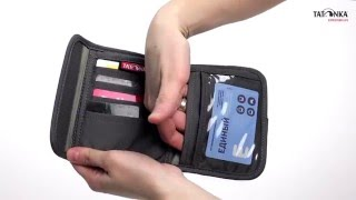 Удобный кошелек. Tatonka Euro Wallet