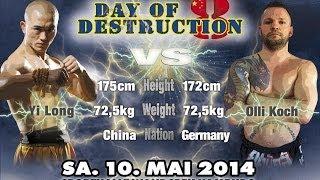 Video Yi Long vs Olli Koch - Day of Destruction 8 in Hamburg - Germany MP3, 3GP, MP4, WEBM, AVI, FLV Juli 2019