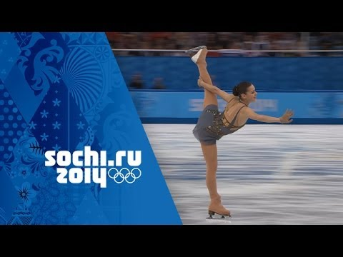 skating - Highlights of Adelina Sotnikova's gold medal winning performance in the Free Program of the Ladies Figure Skating competition during the Sochi 2014 Winter Ol...