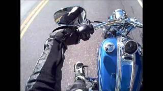 4. Test Ride Part 1 2009 Harley Davidson Rocker C