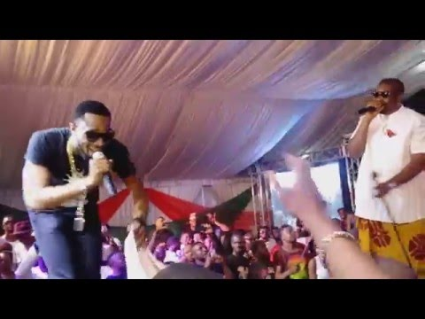 Watch D'banj & Don Jazzy Deliver Electrifying Performance Together In Rivers State