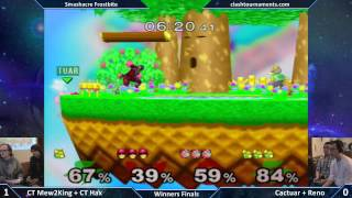 Mew2king +Hax vs Cactuar + Reno