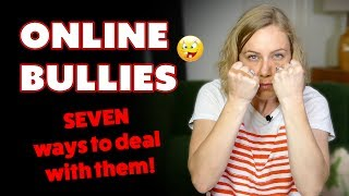 Unfortunately, we cannot do anything to make ourselves bully proof. But there are some things we can do to lessen its impact and even make it less likely to happen. Here are my 7 tips on how to deal with bullying and hate online.Also, remember that bullying or spouting hate in any manner says more about the person doing the bullying than it does about you.1. Don't pet it! This is my personal favorite because it works best. This really just means that we don't want to say anything back or interact with them at all because we don't know what we are going to get. By simply ignoring them and not giving them anything else to pick on us about, hopefully, they will move on and stop harassing us.2. Outsmart them! This can be tricky, but when done right it can really work. Coming up with confusing responses or a witty comeback can often put bullies off of their game. I used to even respond to bullies in other languages just to make them confused and move on.3. Block them! We have so many tools to block unwanted people online. You can mute them on Twitter, block them on Facebook and Instagram, you name the platform they can be blocked on it. Looking through your settings and even googling the ways to block a person can help you keep them at bay.4. Tell someone about it. I know it's hard and we can feel a bit silly or too upset to reach out, but tell someone! It helps so much to talk with someone about it and get support. Trust me, you are not the only person who has been bullied, and I am sure they will understand and be supportive of you.5. Keep records. I know this may sound odd, but if they try to physically harm you or if they threaten you in anyway online, you are going to want all records of your conversations. This makes filing complaints or making them pay for what they did that much easier to do and prove.6. Spend time with loving family and friends. When we are online a lot and getting told nasty things day after day it's important that we take the time to put some positivity into our lives. Make time for loving and supportive people so you are reminded that you do have people in your life who care and are loving.7. Do some positive self-talk! Even if we don't want to, we often remember the nasty things people say much more than we remember the nice or caring things. If someone is saying mean things to us online we are going to have to take some time to talk back to those things and instead say nice things to ourselves. Give it a try! Start with 5 positive things each day and build from there. xox  Please share! Too many people are bullied online each day. The more we know the better.----------------------------------------------------------------------------------------------------------------****PLEASE READ****If you or someone you know is in immediate danger, please call a local emergency telephone number or go immediately to the nearest emergency room.A BIG THANK YOU to my Patreon Patrons!  Without you, I couldn't keep creating videos. xoxo https://www.patreon.com/katimorton---------------------------------------------------------I'm Kati Morton, a licensed therapist making Mental Health videos - Depression, Eating Disorders, Anxiety, Self-Harm and more! Mental health shouldn't have a stigma attached to it. You're worth the fight! ------------------------------------------------------------------------------------New Videos every Monday and Thursday! Visit http://www.katimorton.com for community support! MERCH! https://store.dftba.com/collections/kati-mortonPATREON https://www.patreon.com/katimortonTWITTER http://www.twitter.com/katimortonFACEBOOK http://www.facebook.com/katimorton1TUMBLR http://www.katimorton.tumblr.comPINTEREST http://www.pinterest.com/katimorton1Subscribe! http://bit.ly/2j2frsv----------------------------------------------------------------------------------------------------------------Business email: linnea@toneymedia.com ----------------------------------------------------------------------------------------------------------------SENDING KATI STUFFPO Box1223 Wilshire Blvd. #665 Santa Monica, CA 90403HELP! SUBTITLE VIDEOS http://goo.gl/OZOQXi Subtitle videos if you know English or any other languages! MY FREE WORKBOOKSEasy to follow at home workbooks for your mental health....Self-Harm workbook  http://goo.gl/N7LtwUEating Disorder workbook  http://goo.gl/DjOmkCLGTBQ workbook  http://goo.gl/WG8jcZ----------------------------------------------------------------------------------------------------------------KATIFAQ VIDEOSWondering if I have answered a question like yours?Search for it here: http://goo.gl/1ECSlO