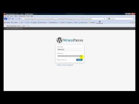 how to login with wordpress