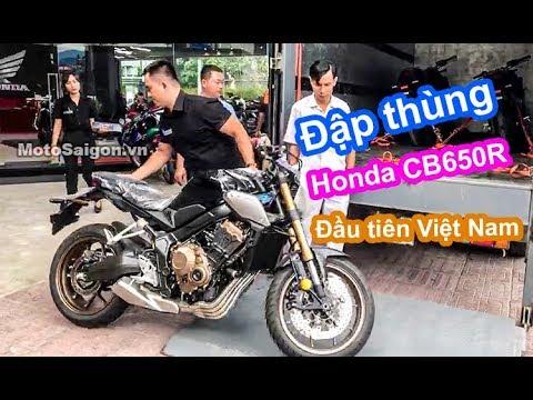 Đập thùng Honda CB650R 2019 đầu tiên Việt Nam giá bán 246 triệu - Thời lượng: 37:20.