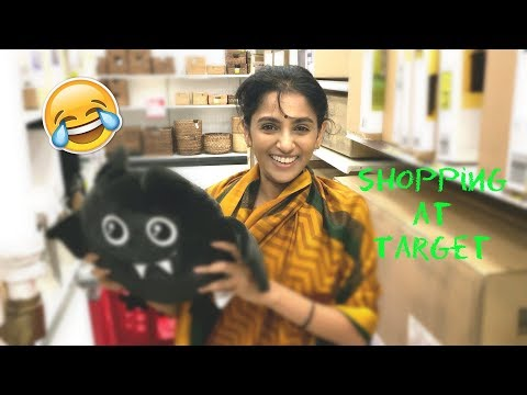 Shopping At Target With Sailaja