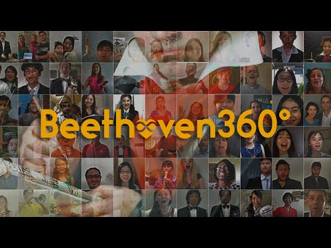 Aprecie um clássico de Beethoven em 360 graus