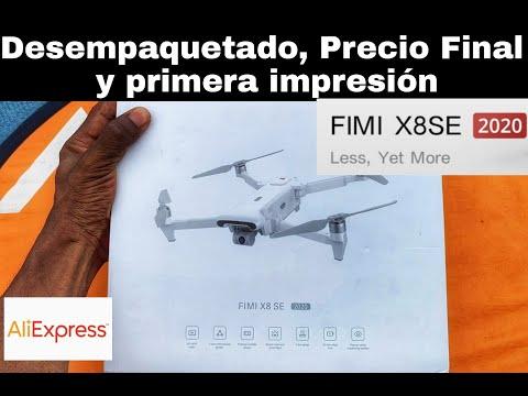 DRONE FIMI X8 SE 2020 - DESEMPAQUETADO - PRECIO FINAL, PRIMERA IMPRESIÓN en ESPAÑOL