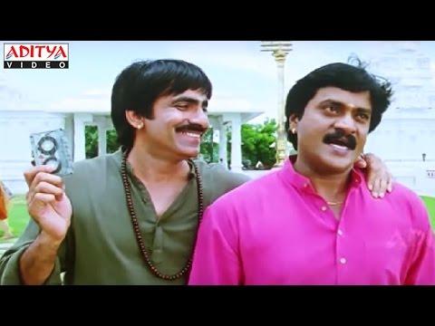 Video Sunil And Ravi Teja Temple Comedy Scene in Khallas Hindi Movie download in MP3, 3GP, MP4, WEBM, AVI, FLV January 2017